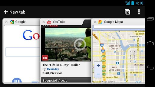 Youtube y Chrome se actualizan para Android