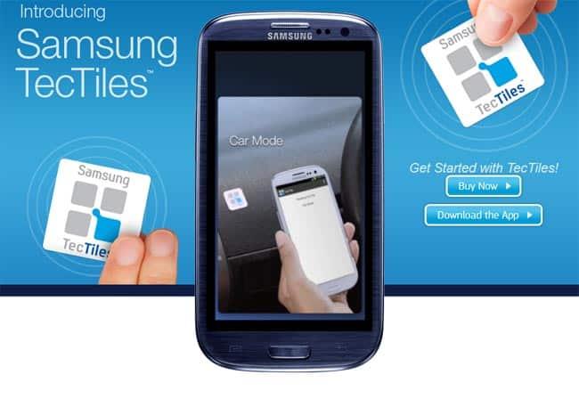 Samsung recupera el sistema NFC con sus nuevas TecTiles