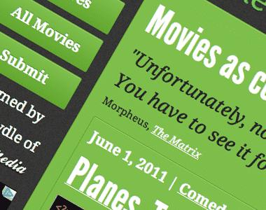 Spoiler de películas en código de programación