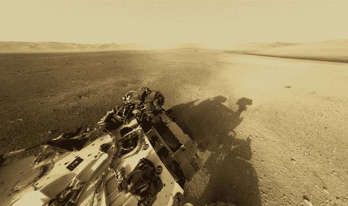 Primeras imágenes HD del Curiosity