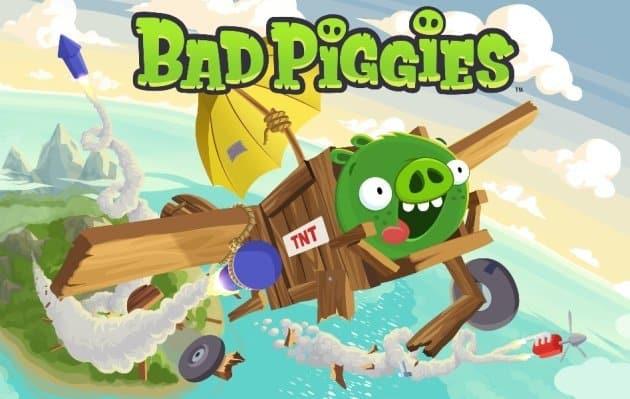Rovio vuelve a las andadas: «Bad Piggies»