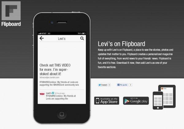 Flipboard apuesta por el Social Commerce