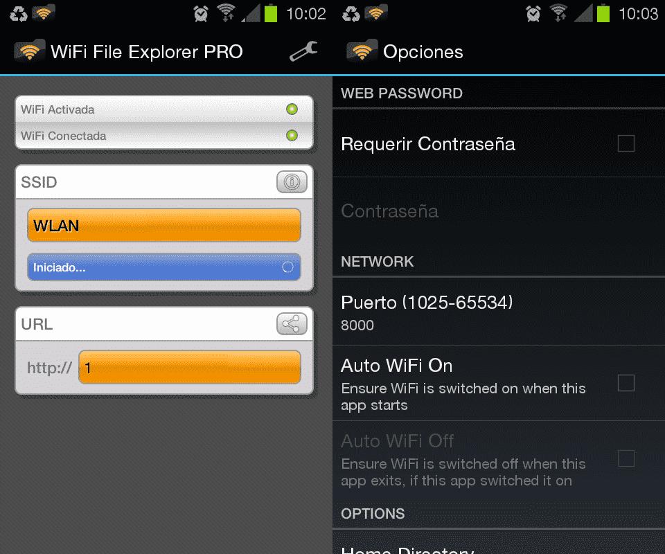 Administra los archivos de tu Android vía wifi