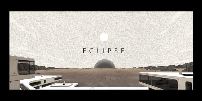 Eclipse: Corto de animación con estética Moebius