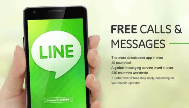 Line, dejando WhatsApp a la altura del betún