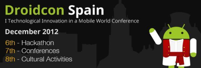 DroidCon Spain, del 6 al 8 de diciembre, en Murcia