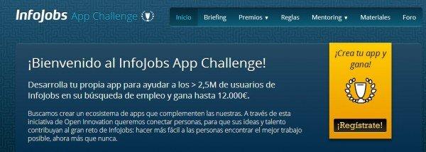 Infojobs ofrece hasta 12.000 euros de premio a desarrolladores