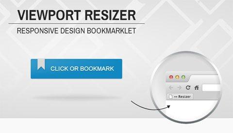 Herramientas Web: Viewport Resizer