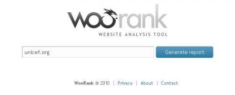 Herramientas Web: WooRank, sugerencias para mejorar la web