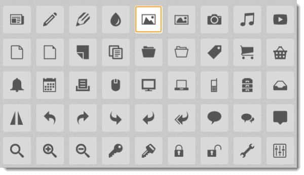 Herramientas Web: IcoMoon App