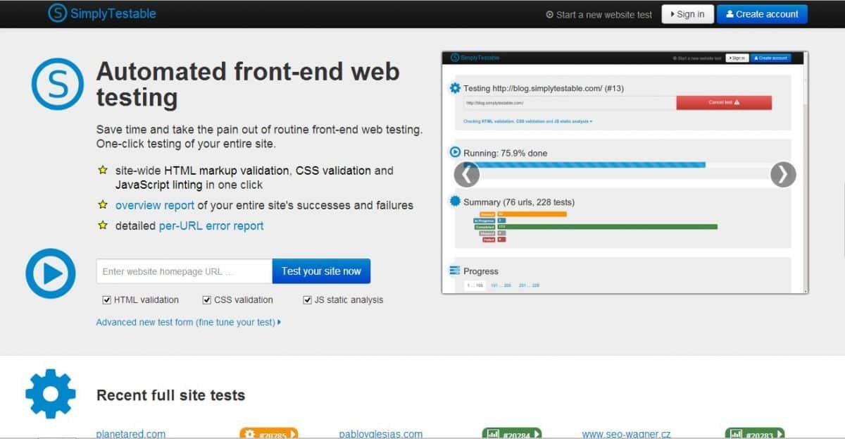 Herramientas Web: Simply Testable, compilador web