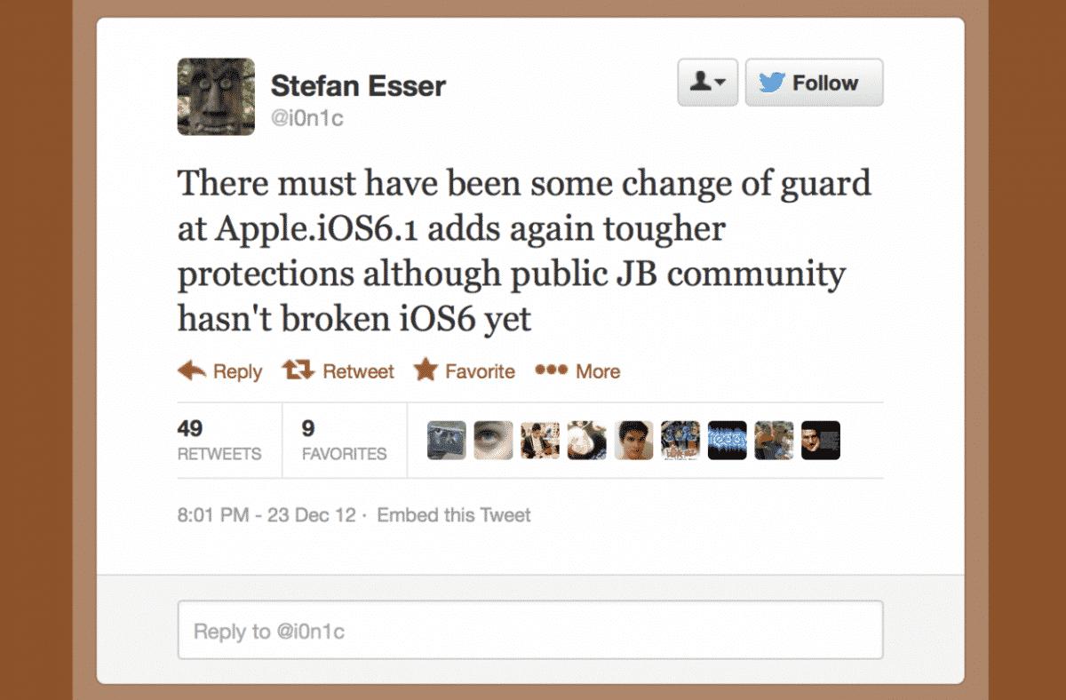 Apple y la tirria por el jailbreak