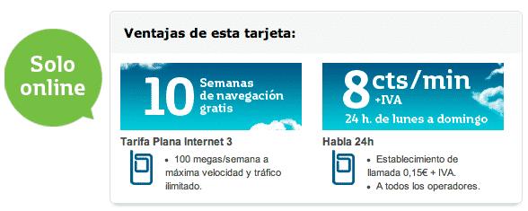 Obteniendo 10 semanas de internet gratuito en Movistar prepago
