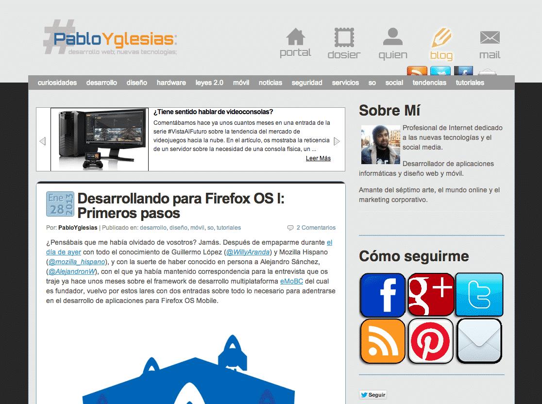 PabloYglesias 2.0: PabloYglesias se reinventa