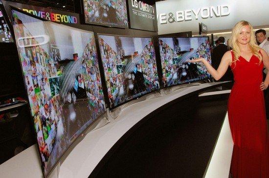 CES 2013 pantallas flexibles