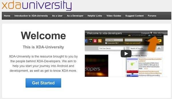 XDA University, comenzando con el hackeo de Android