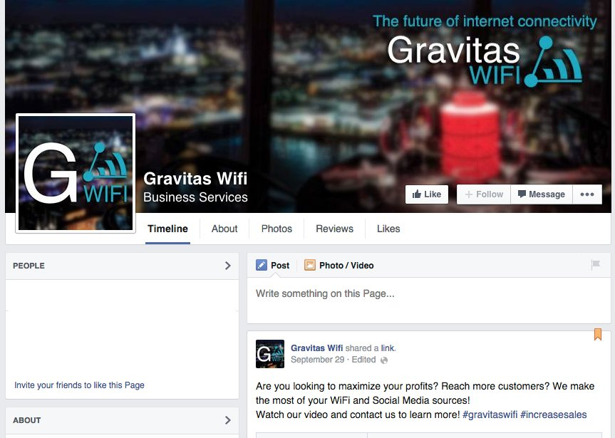 Gravitas WIFI