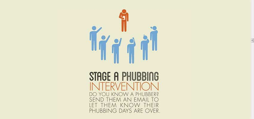 Phubbing