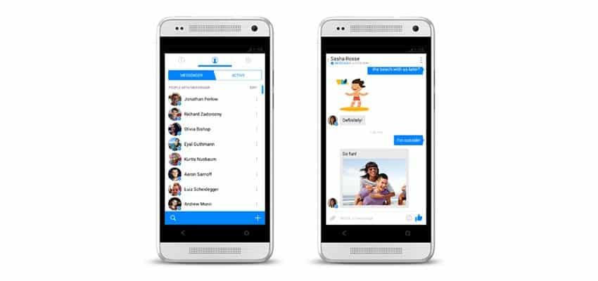 La mensajería instantánea comiéndole terreno a la red social