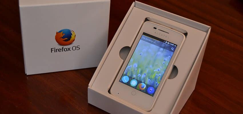 Unboxing y puesta a punto del Alcatel One Touch Fire (Firefox OS)