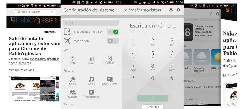 Ubuntu Touch Config