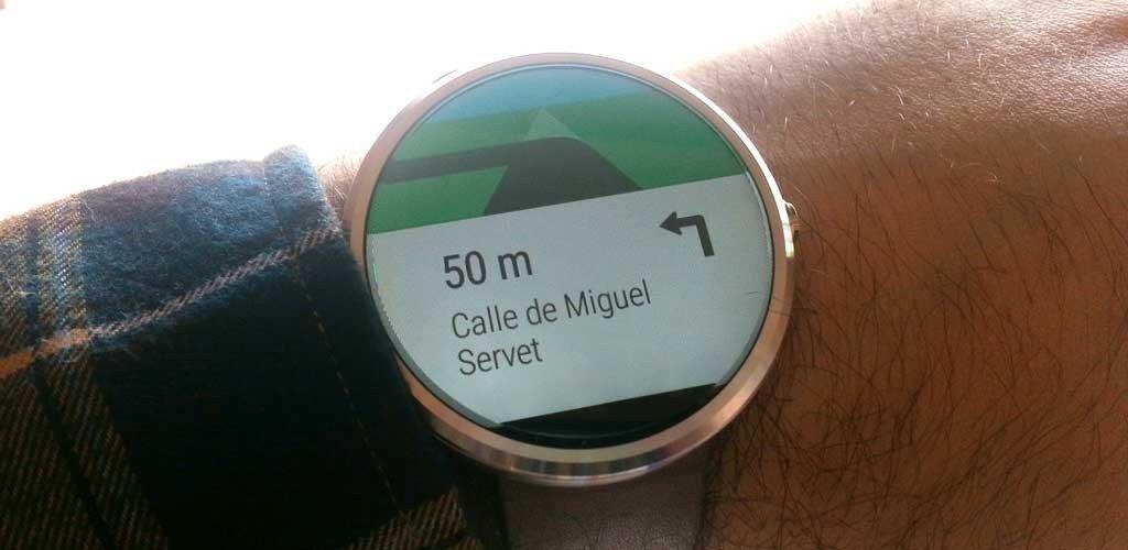 Moto360 Smartwatch latitude
