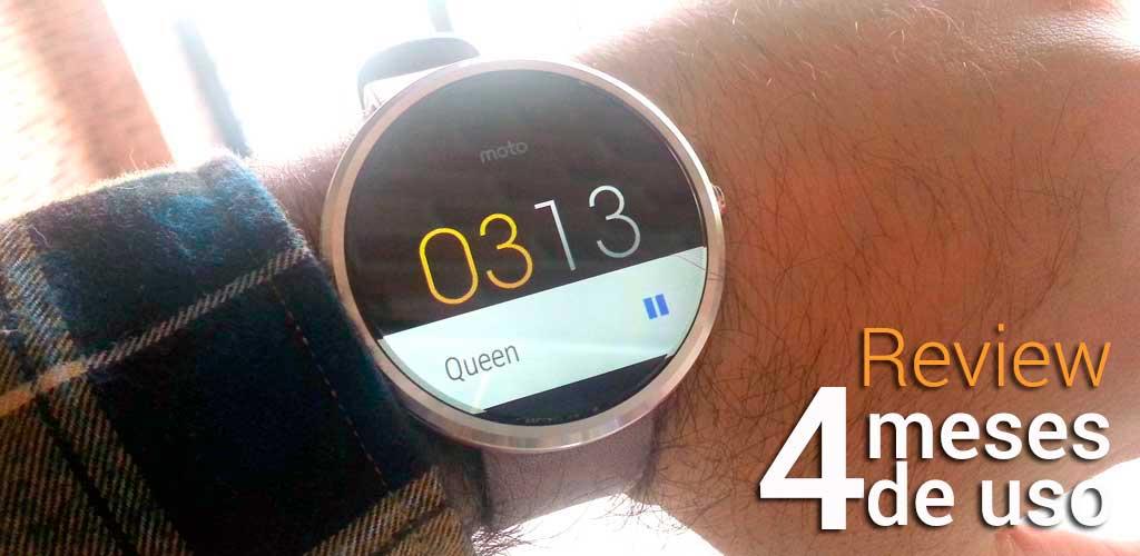 Mi experiencia con un smartwatch después de 4 meses de uso diario