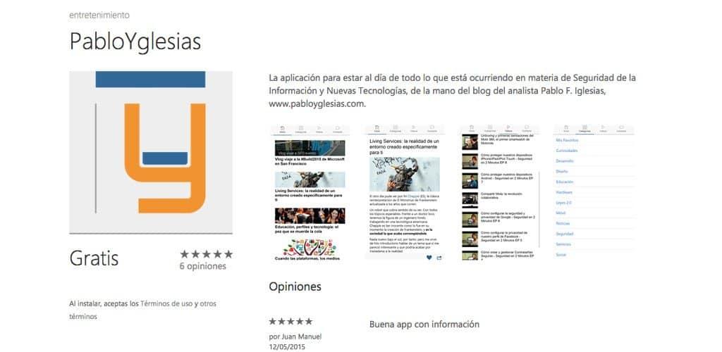 PabloYglesias App