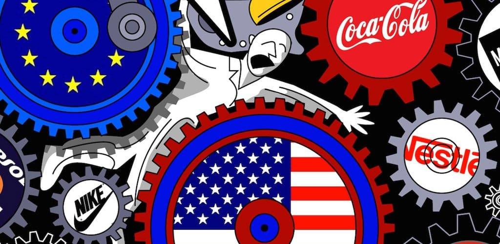 una mirada a ese mundo donde las corporaciones campan a
