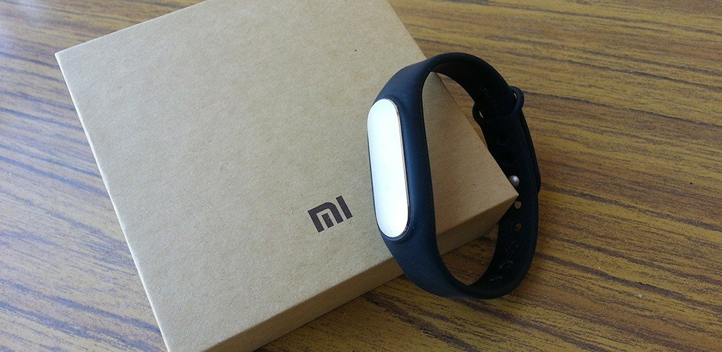 Xiaomi Mi Band packaging