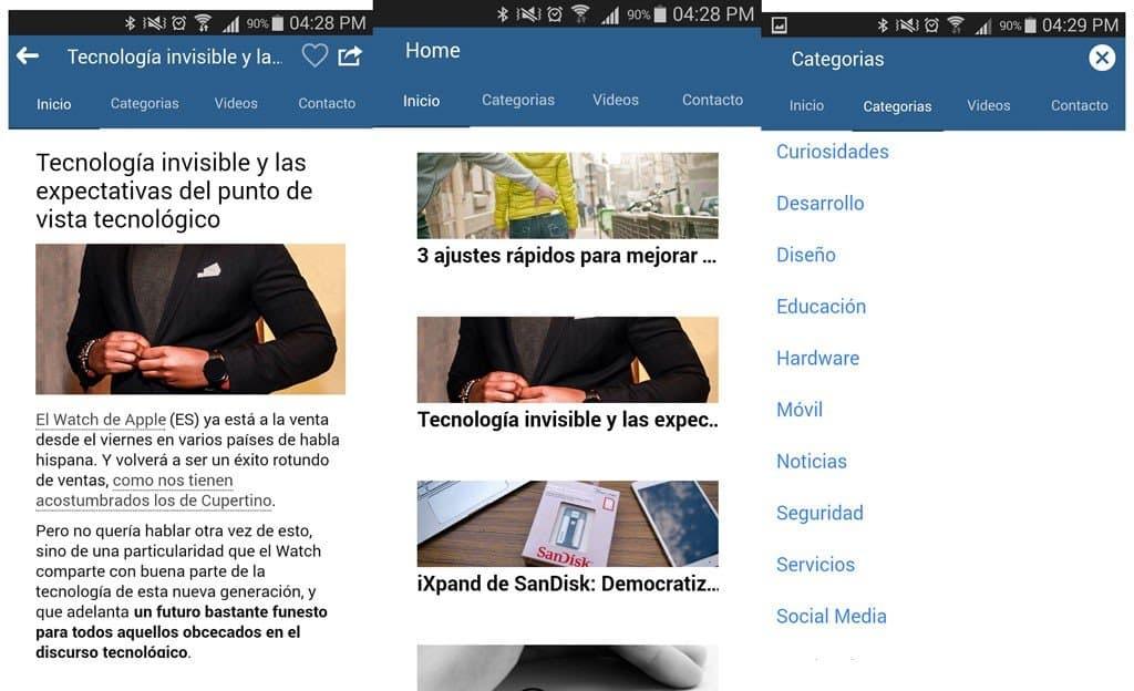 PabloYglesias App Android
