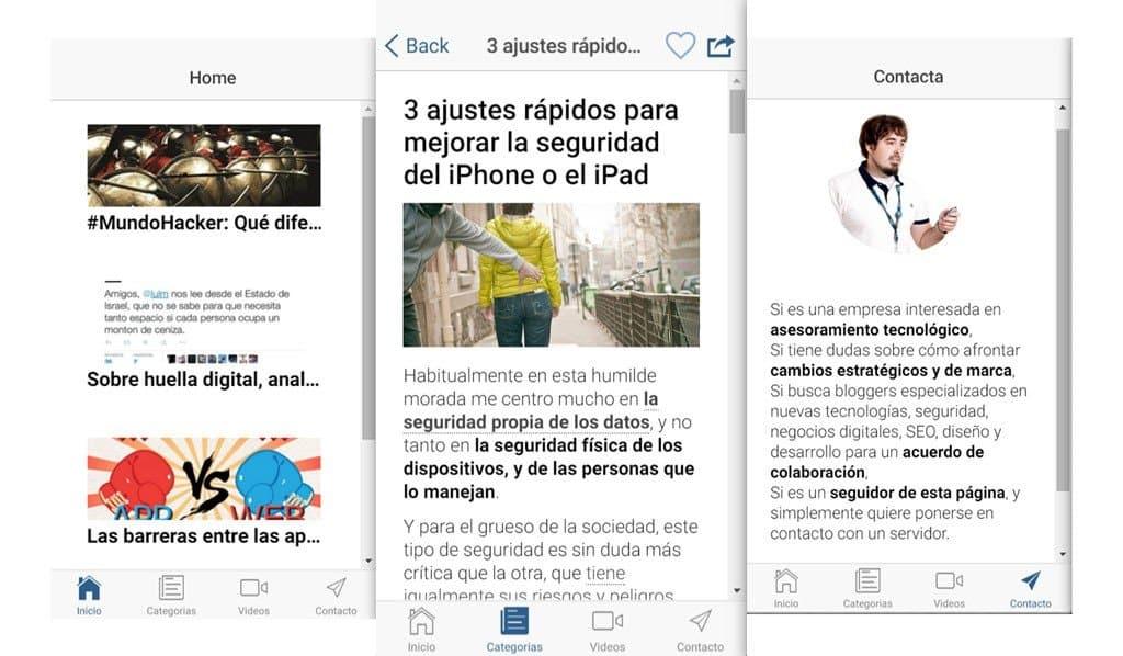 PabloYglesias App iOS