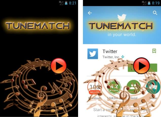 tunemach tapjacking