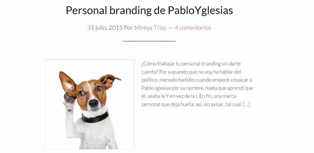 Personal Branding Mireya Trias