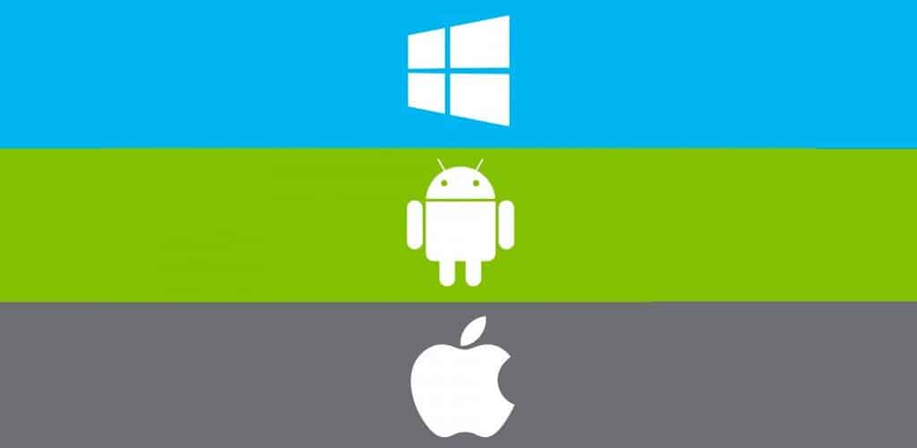 Microsoft Android ios