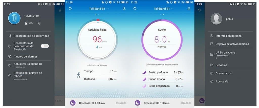 TalkBand B1 app