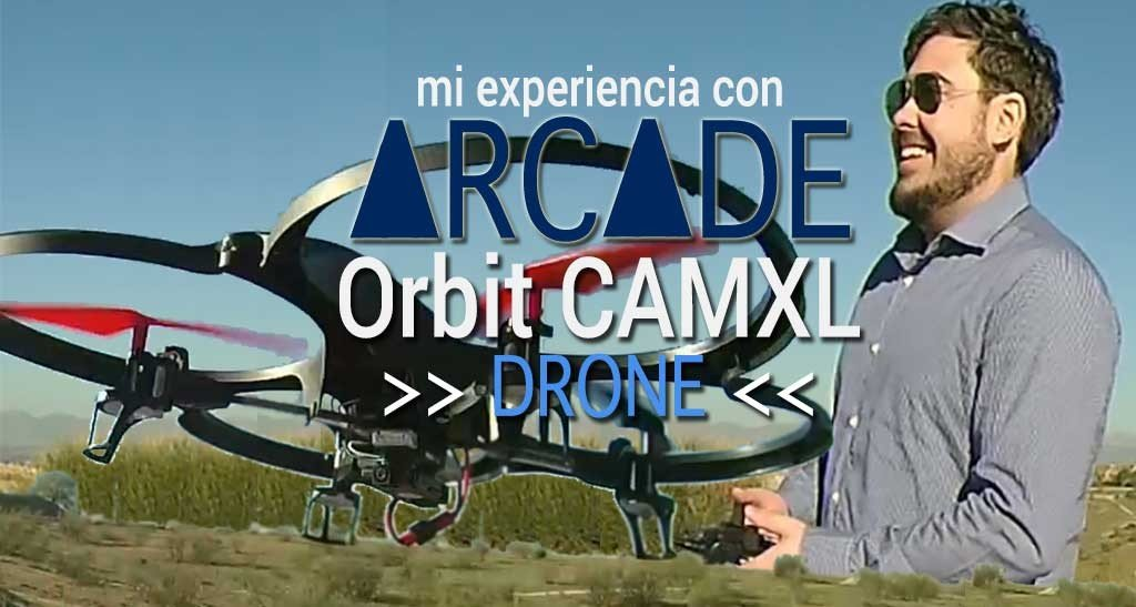 Arcade Orbit CAMXL Drone