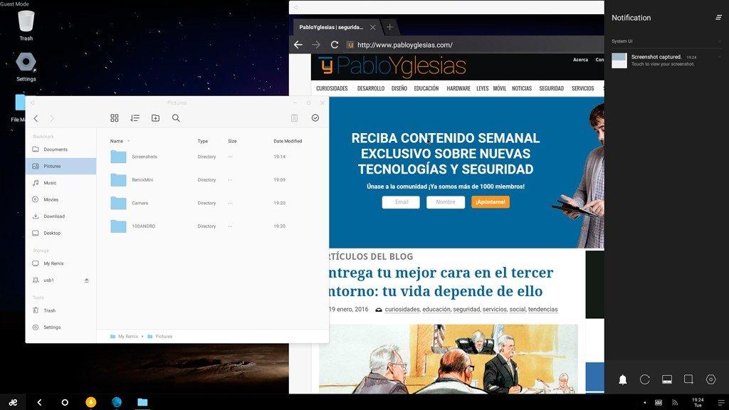 RemixOS escritorio
