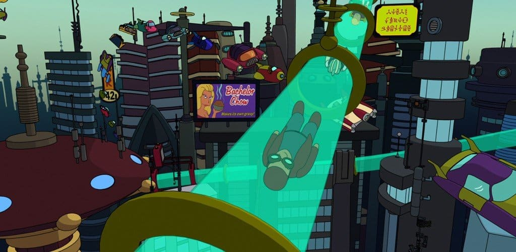 futurama hyperloop