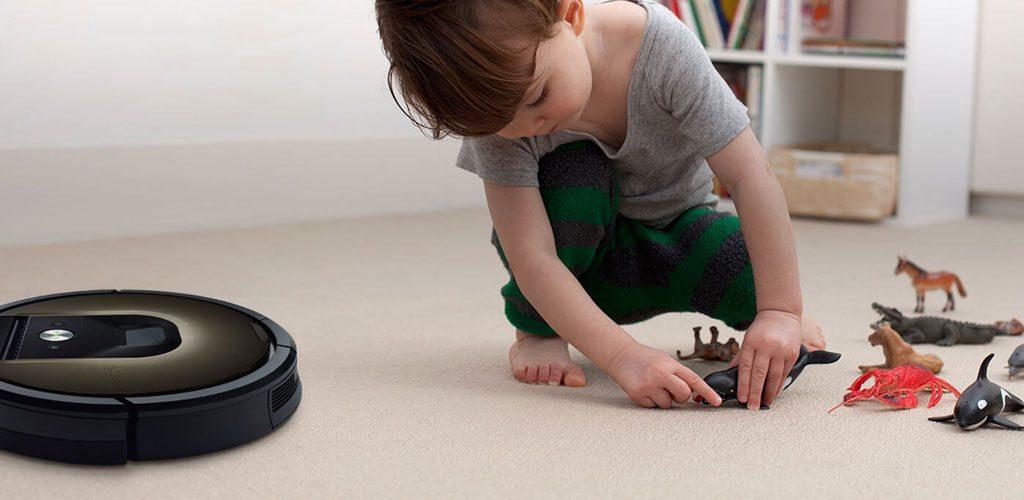 robot limpieza