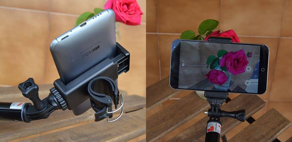 selfie sencillo smartphone