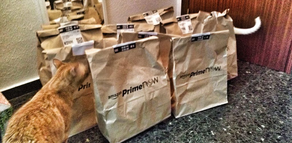 Amazon Prime Now Pedido