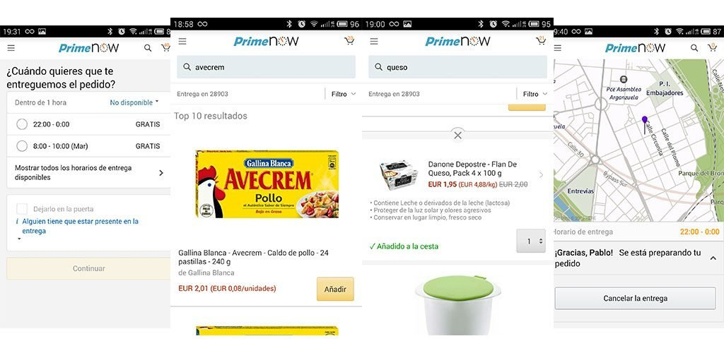Proceso Compra Amazon Prime