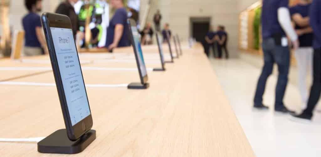 Algunas curiosidades de las Apple Store al hilo del debate usabilidad/seguridad