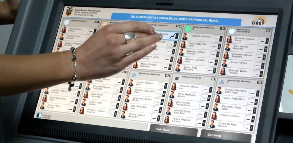 Resulta «técnicamente complejo» asegurar el anonimato del voto online