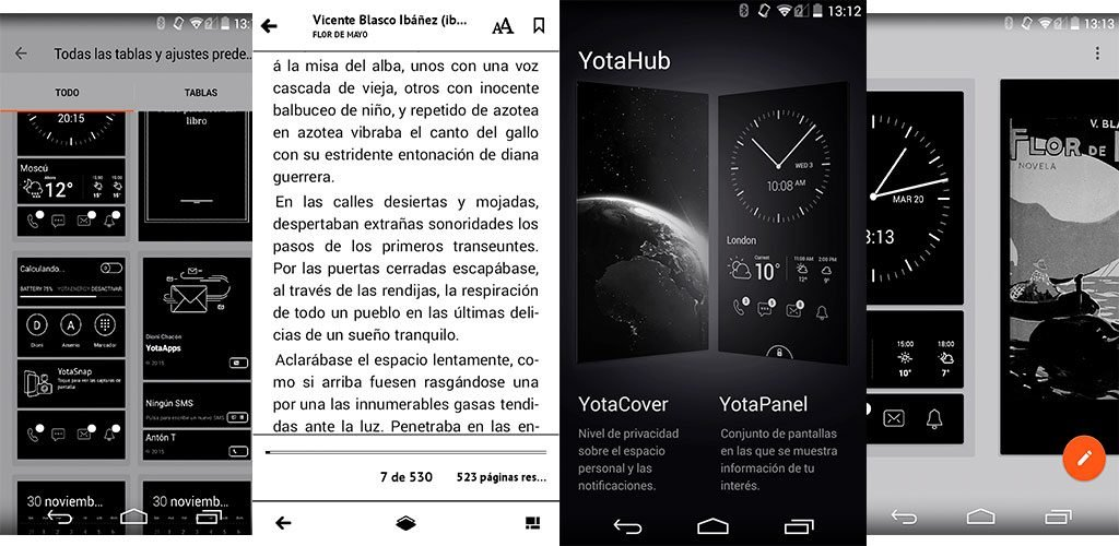 Yotaphone2 pantallazos