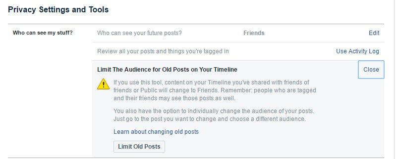 informacion privada facebook 2
