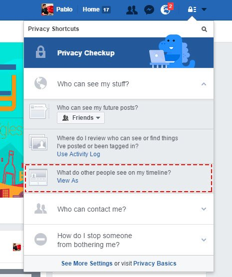 informacion privada facebook