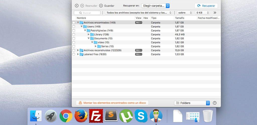 Recuperando archivos que no deberían haber sido borrados en MacOS