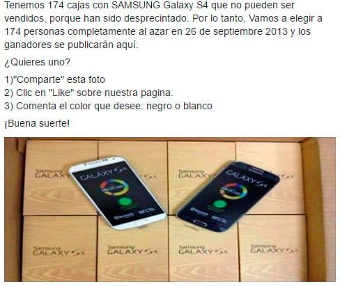 samsung galaxy fraude